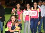 """En la actualidad uno de los atractivos del campeonato es la inclusión de una serie femenina, en la foto, las campeonas del 2012 """"Las Diversas"""""""