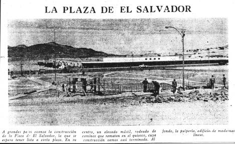 Edificio fundacional, en lo origenes de El Salvador el edificio de la pulpería fue gerencia, correo, telégrafo, central telefónica, policlínico, capilla, oficinas de pago e incluso de Ladeco.